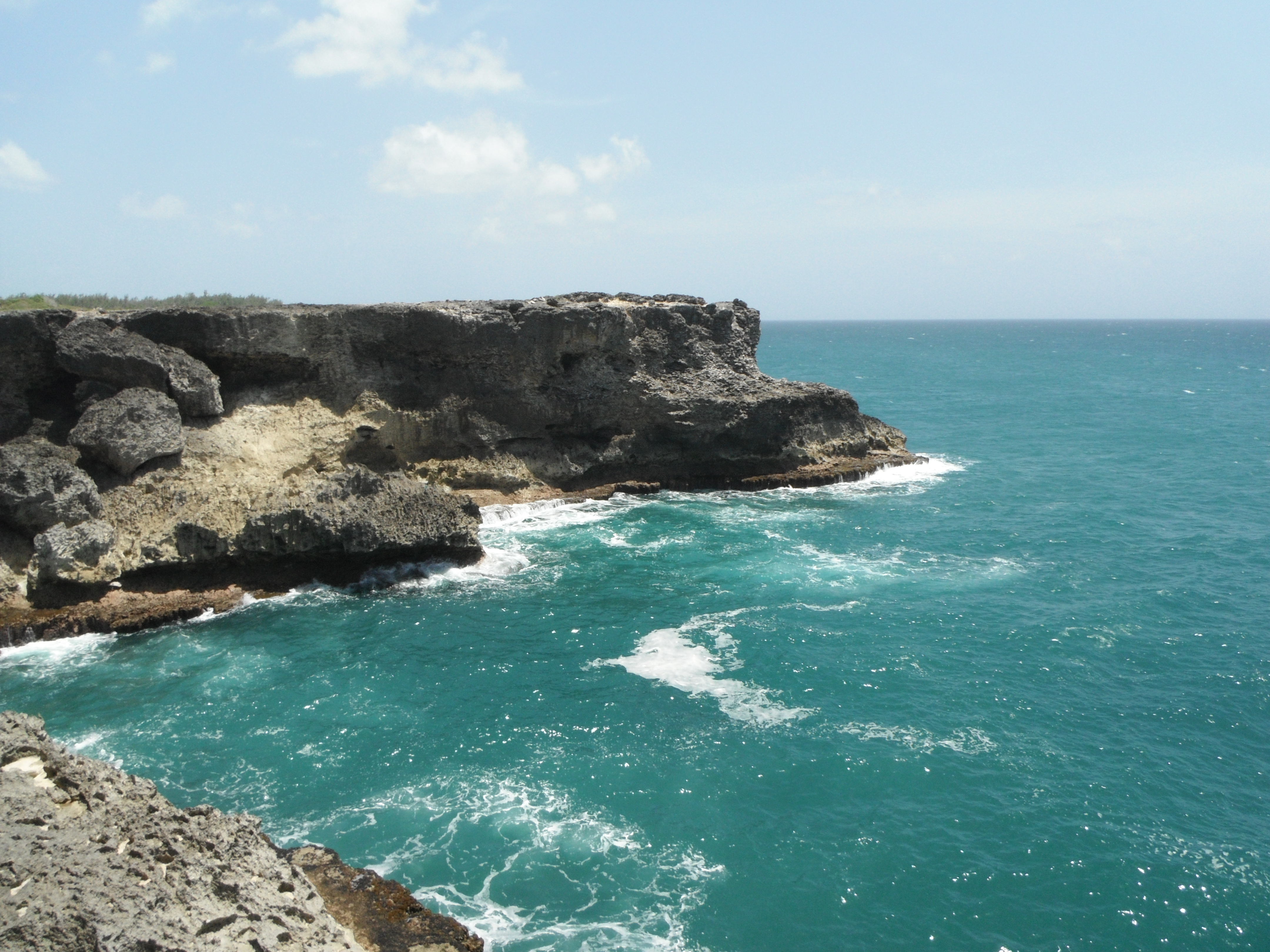 Barbados Where The Caribbean Sea Meets The Atlantic Ocean See